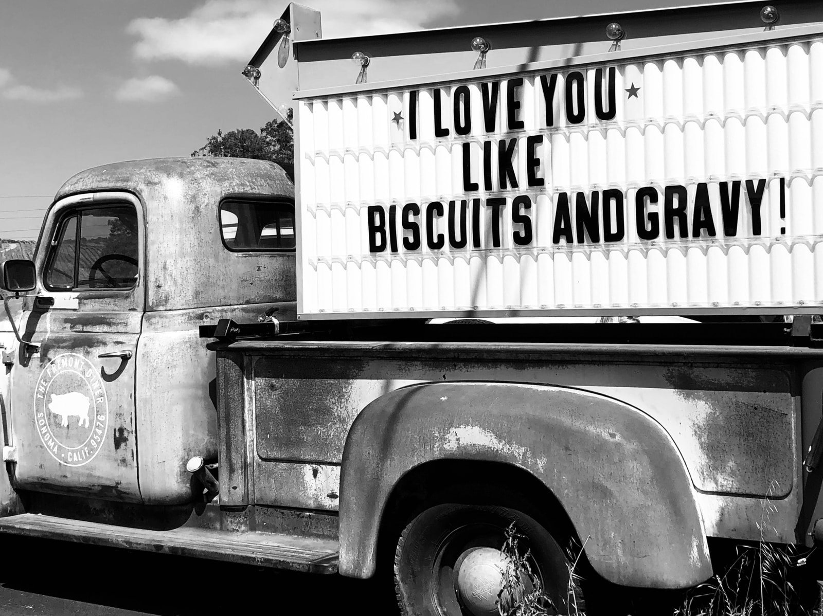 gray and white delivery truck